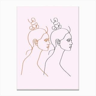 Alegra Canvas Print