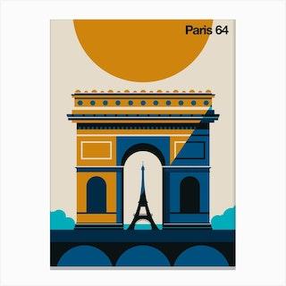 Paris 64 Canvas Print