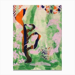 Twisted Still Canvas Print
