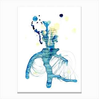Retinolman Or Edward Scissorhands Canvas Print
