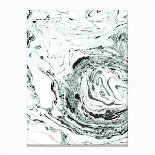 Salt In Canvas Print