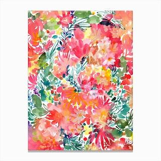 Endless garden Canvas Print