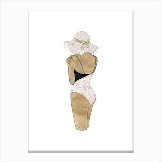 Fashion Swimsuit 3 Canvas Print