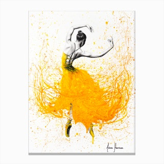 Daisy Dance Canvas Print