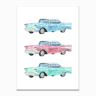 Pick a Car Canvas Print