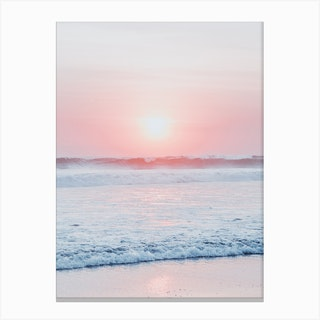 Sunset Wave Canvas Print