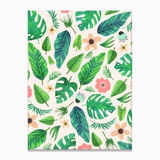 Tropical-Life-Main-Light Canvas Print