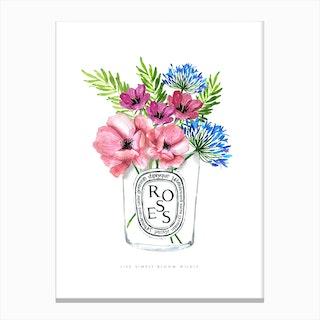 Diptyque Flowers Ok Canvas Print