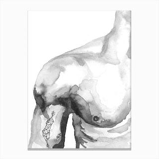 Male Canvas Print