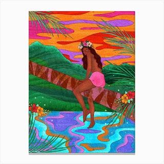 Hawaiian Dreams Canvas Print