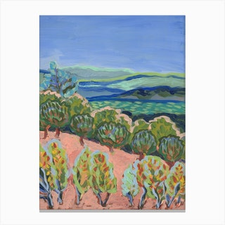 Napa Wine Country Canvas Print