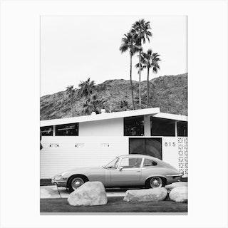Palm Springs Ride II Canvas Print