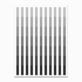Grey Up Canvas Print