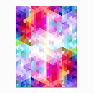 Vivid Pattern VIII Canvas Print