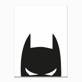 Batman Head Canvas Print
