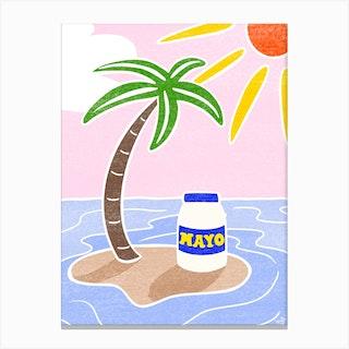 Mayo Canvas Print