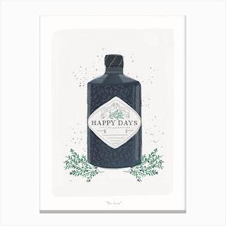 Gin Lover Canvas Print