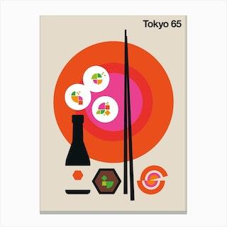 Tokyo 65 Canvas Print
