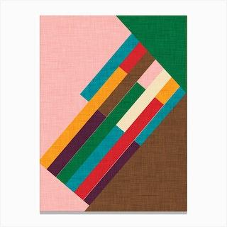Meridian Pink Canvas Print
