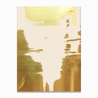 Blush Gold In Canvas Print