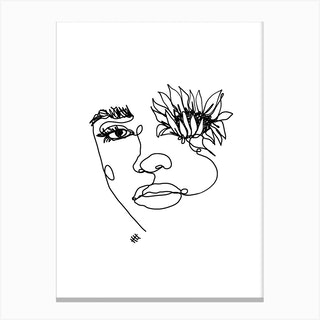 Sun In My Eyes Canvas Print
