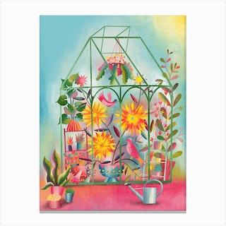 Greenhouse Dream Canvas Print