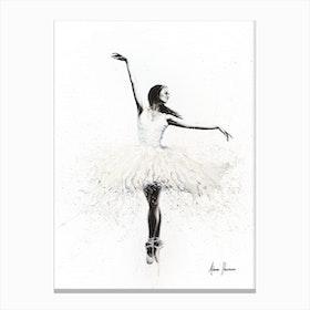 The White Swan Canvas Print