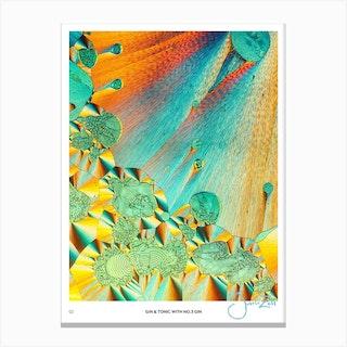 No 3 Perfection Prints Gin & Tonic Canvas Print