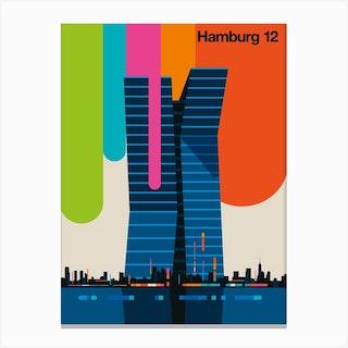 Hamburg 12 Canvas Print
