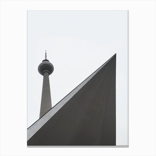 Berlin Tower Canvas Print