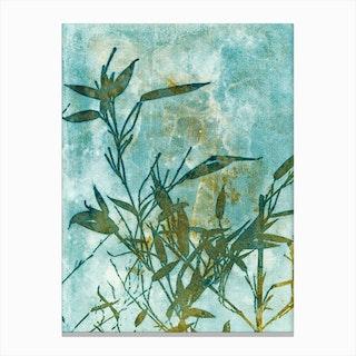 Bamboo Impressions Canvas Print