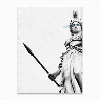 Athena The Goddess Of Wisdom Canvas Print