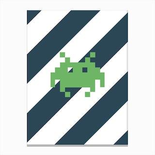 Invader 2 Canvas Print