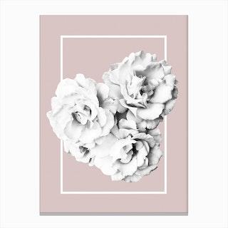 Roses Minimalist Canvas Print