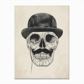 Gentlemen Never Die Canvas Print