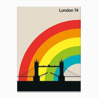 London 74 Canvas Print