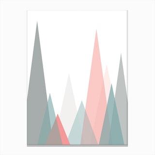 Scandi Forest Canvas Print