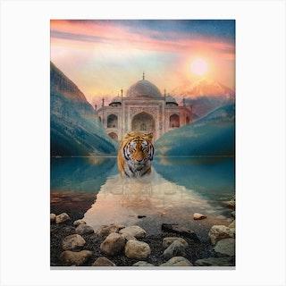 Tiger Temple Canvas Print