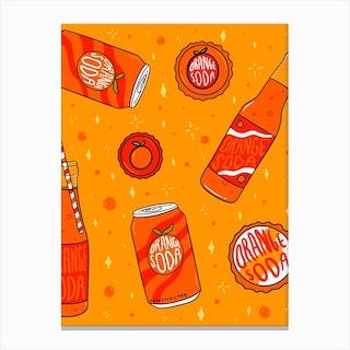 Orange Soda Canvas Print