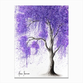 Peace Dance Tree Canvas Print