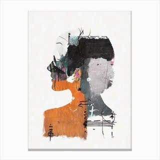 Abstract Harmony Canvas Print