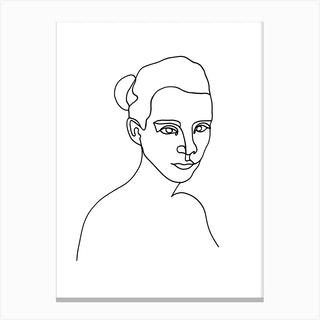 Evie Canvas Print