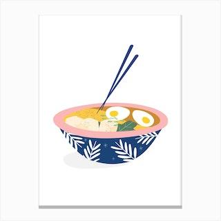 Ramen Bowl Canvas Print