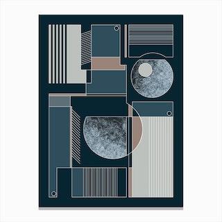 Geometric 3 Canvas Print