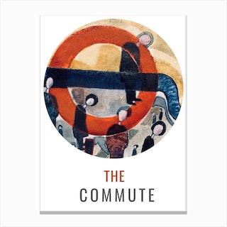 The Commute Spyhole Canvas Print