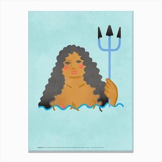 Aquarius 2 Canvas Print