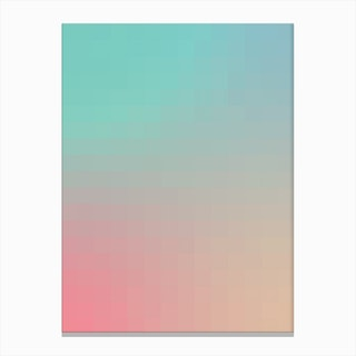 Gradientblocks 9 Canvas Print