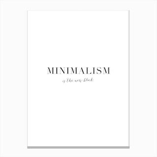 Minimalism Canvas Print