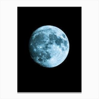 Moon Valley Canvas Print