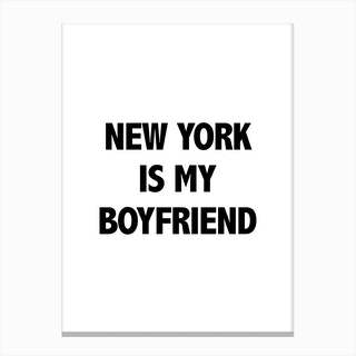 Boyfriend Canvas Print